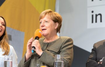 Angela Merkel in Herford
