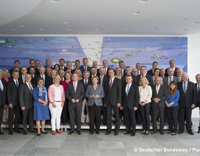 Gruppenbild Bundestag
