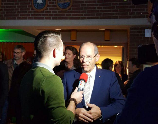Karl-Heinz Wange im Pressegespräch auf dem Martinimarkt am 4.11.2016 in Salzkotten