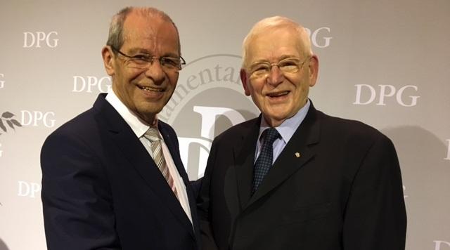 Karl-Heinz Wange mit Friedhelm Ost