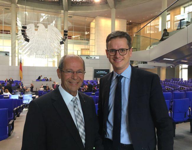 1. Tag am 07.07.2016 im Bundestag gemeinsam mit MdB Carsten Linnemann