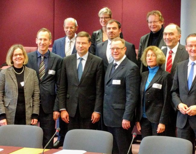 Dialog und Austausch in Brüssel