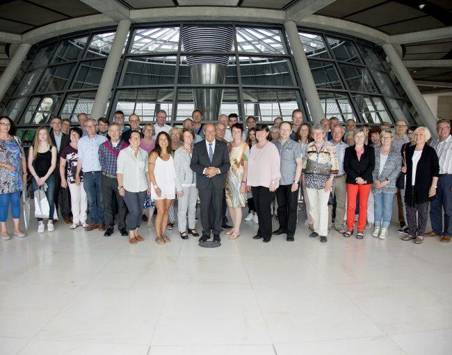 BPA-Gruppe aus dem Kreis Paderborn zu Besuch in Berlin